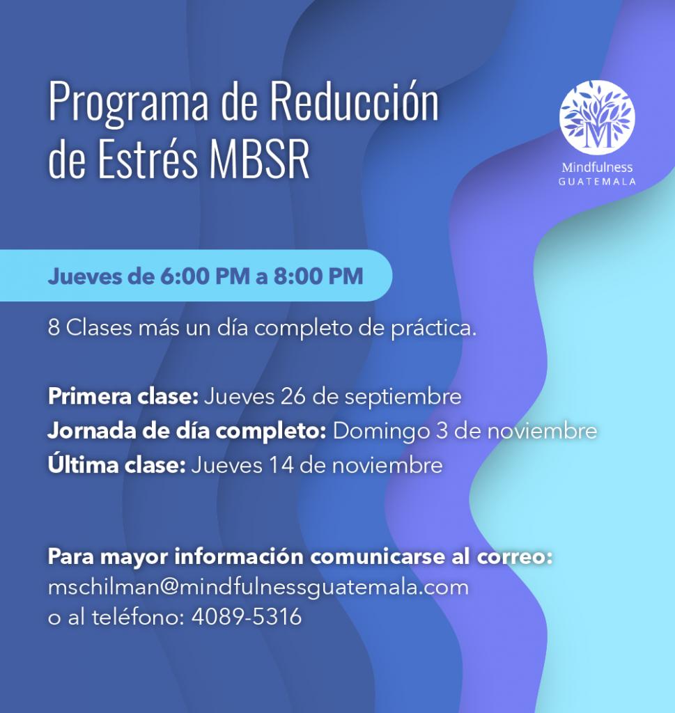 Programa de reducción de estrés MBSR